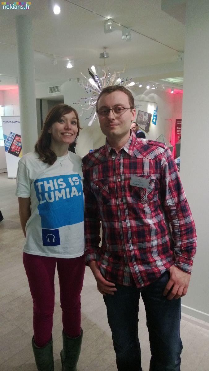 Photos de la Lumia Week à Paris