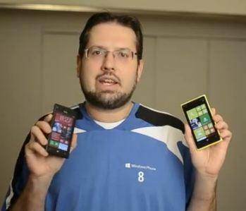 Vidéo : HTC 8x vs Lumia 920