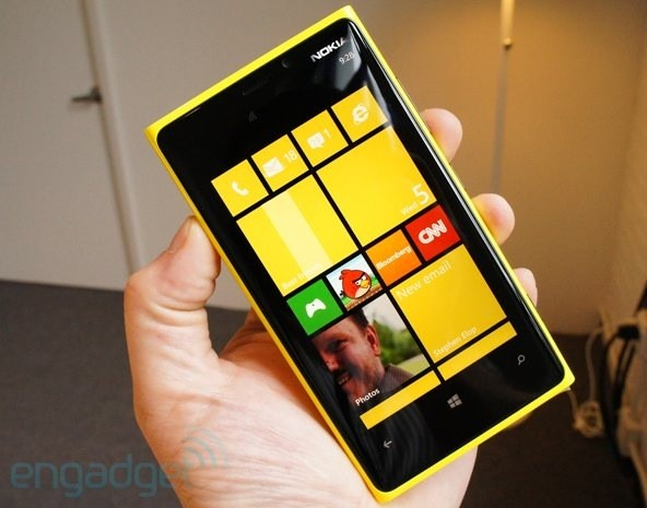 Nokia Lumia 920 à 549,99€ chez The Phone House