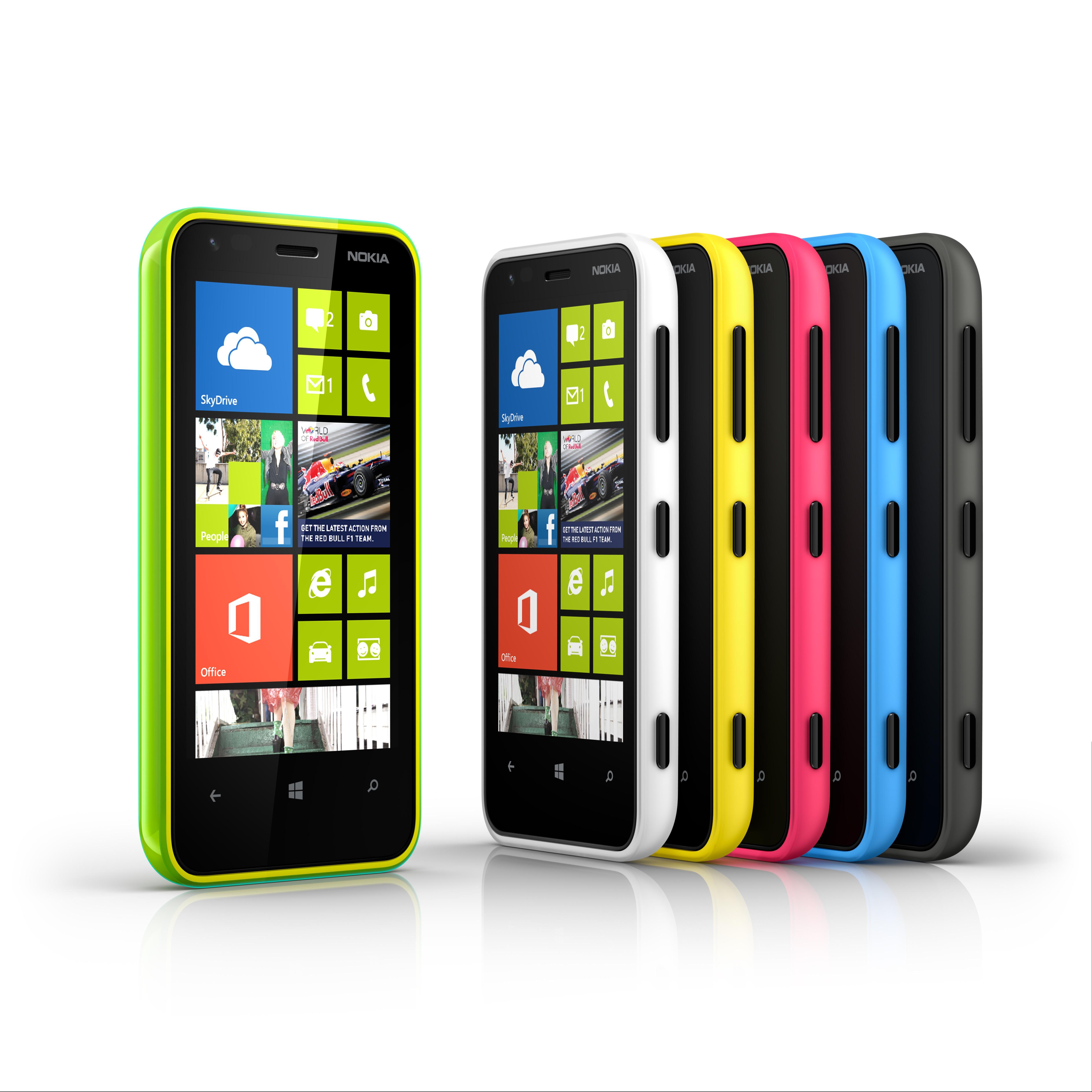 Présentation du Lumia 620, un WP8 milieu de gamme coloré et compact