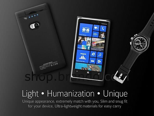 Doublez la batterie de votre Lumia 920