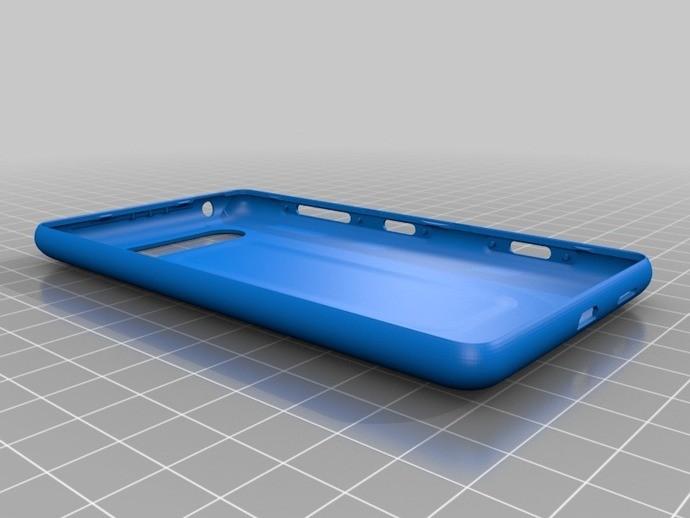 Test d'impression des coques 3D du Lumia 820