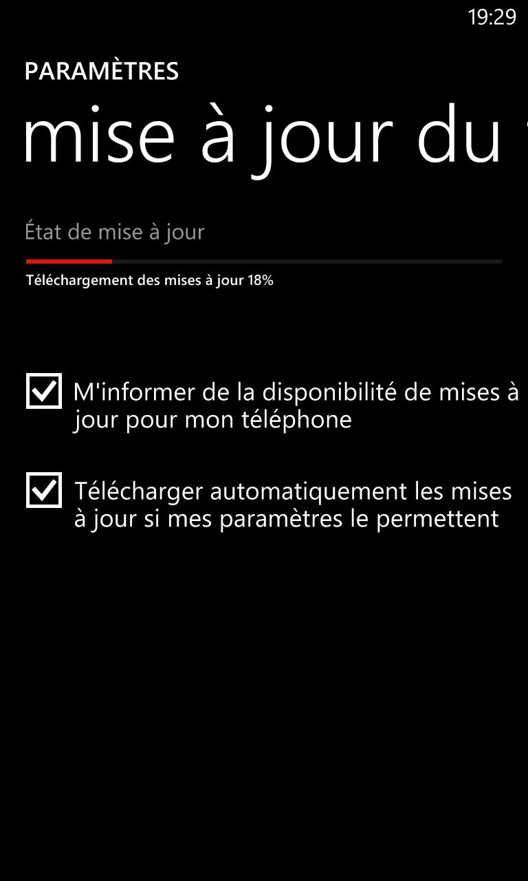 Déploiement en cours de Portico sur les Lumia 820 et 920