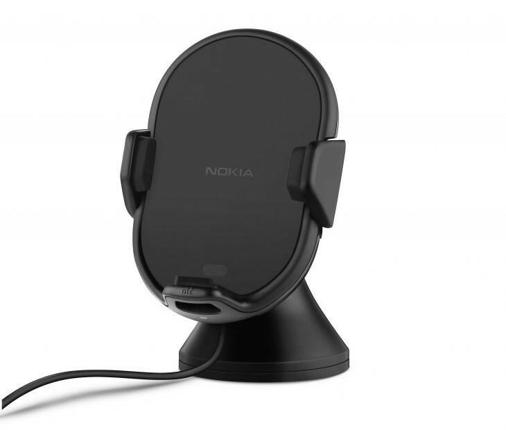Nokia dévoile le support de voiture à recharge sans fil et NFC, le CR-200