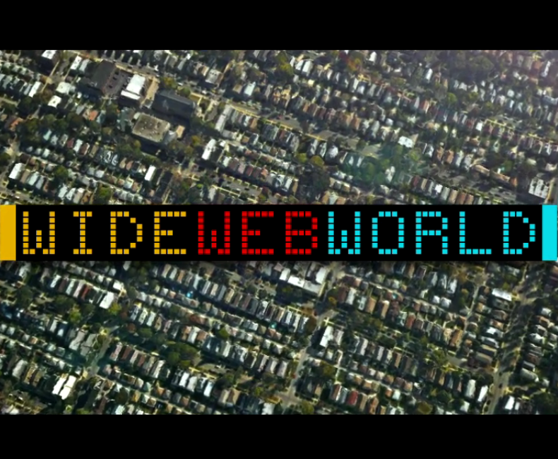 Wide Web World, une superbe vidéo créée avec des images de HERE Maps 3D