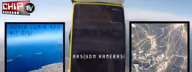 Un magazine turc envoie un Lumia 920 dans l'Espace