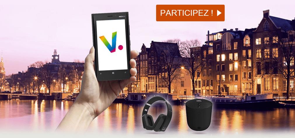 Concours SNCF «Voyagez avec nos applis mobile !» gagnez 9 Nokia Lumia et leurs accessoires et des nuits d'hôtel