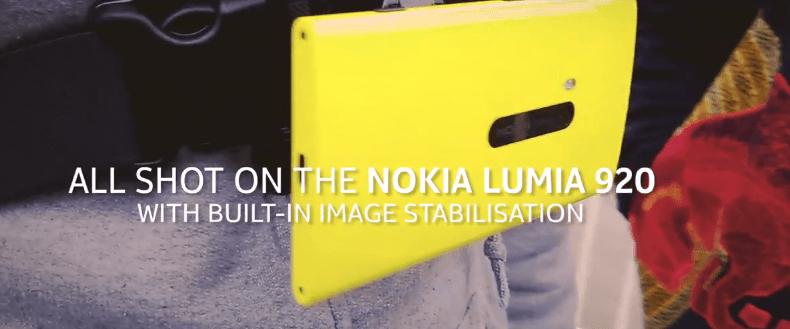 [Vidéo] La stabilisation optique du Lumia 920 démontrée par des freerunners