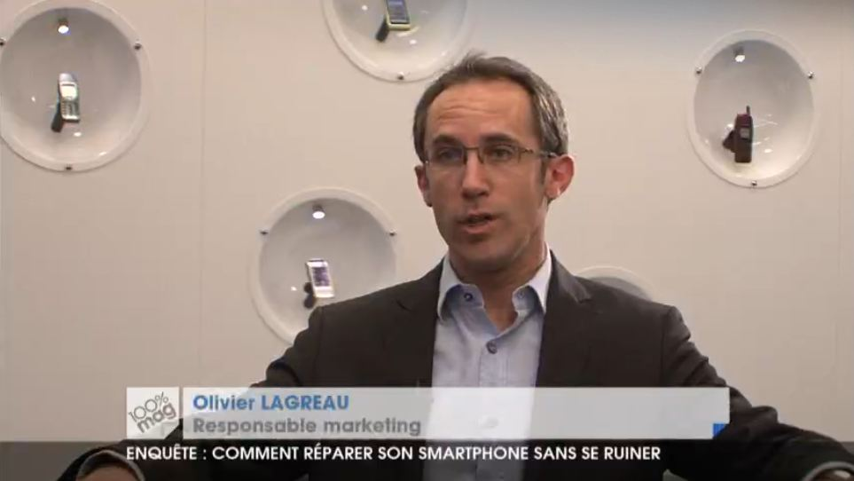 Olivier Lagreou de Nokia fait une courte apparition dans 100% MAG