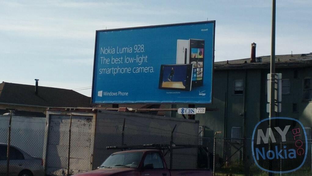 Une publicité Verizon pour le Nokia Lumia 928 déjà aperçue en pleine rue ?