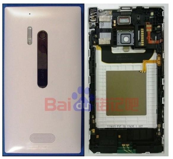 Le Nokia Lumia 928 en pièces détachées
