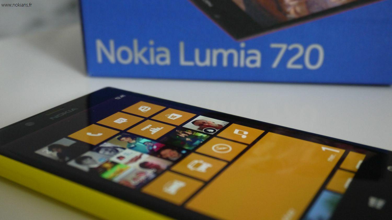 Test du Nokia Lumia 720 et gros coup de coeur !