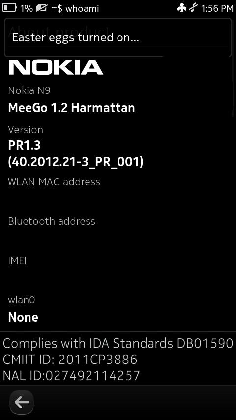 Nokia N9, des fonctionnalités cachées