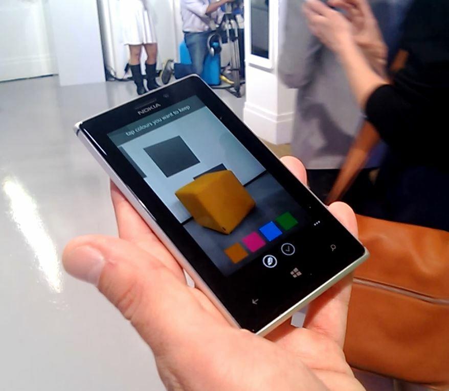 Smart Camera : démonstration de la fonctionnalité Colour Pop