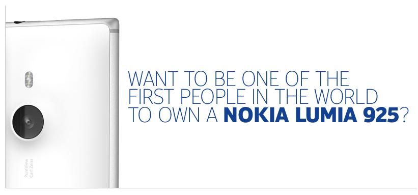 [CONCOURS] Gagnez un Nokia Lumia 925 !