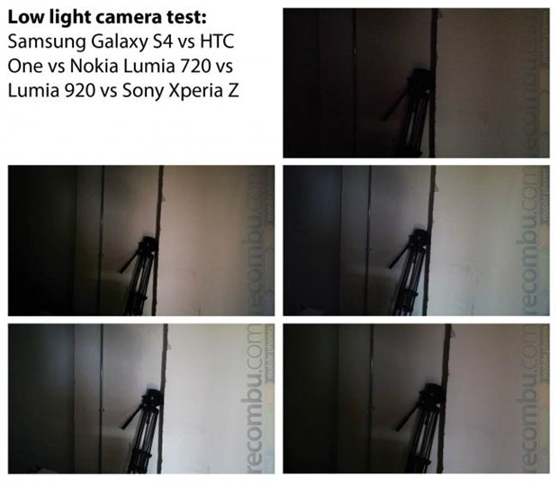 Photo en faible luminosité, le Nokia Lumia 720 bat le Samsung Galaxy S4 et le HTC One