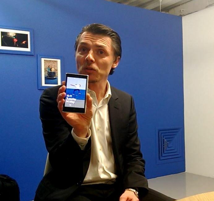 Interview de Stefan Pannenbecker, responsable design produit chez Nokia
