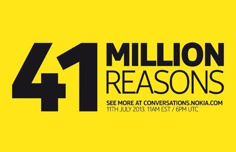 41 millions de raisons de suivre en direct l'annonce de Nokia le 11 juillet 2013