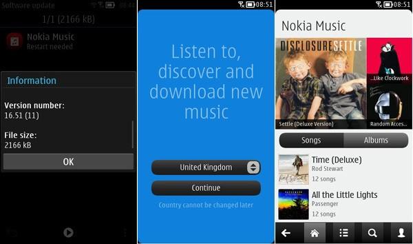 Mise à jour en cours de déploiement de Nokia Musique pour les terminaux sous Belle Refresh