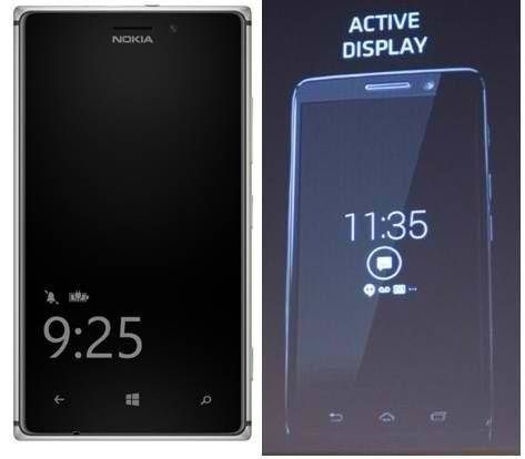 Quand Nokia donne des idées à Motorola