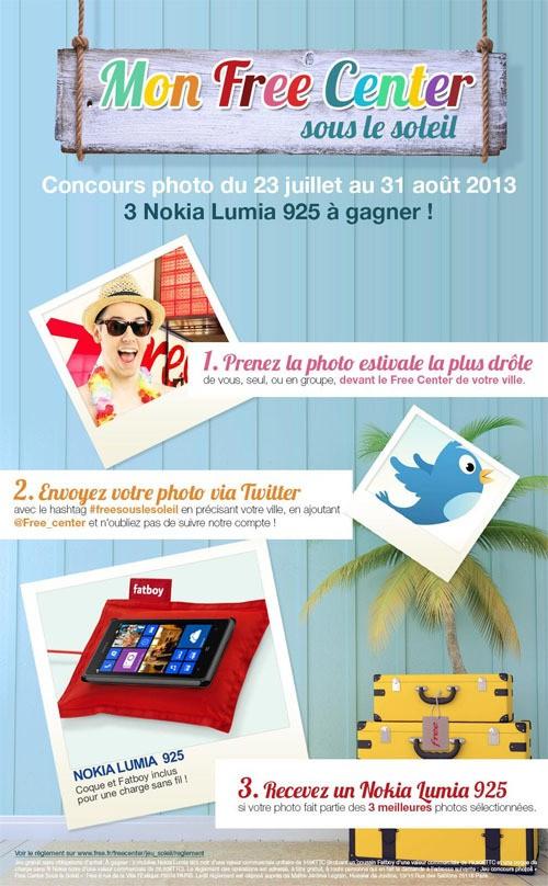[Concours] Gagnez un Nokia Lumia 925 avec Free !