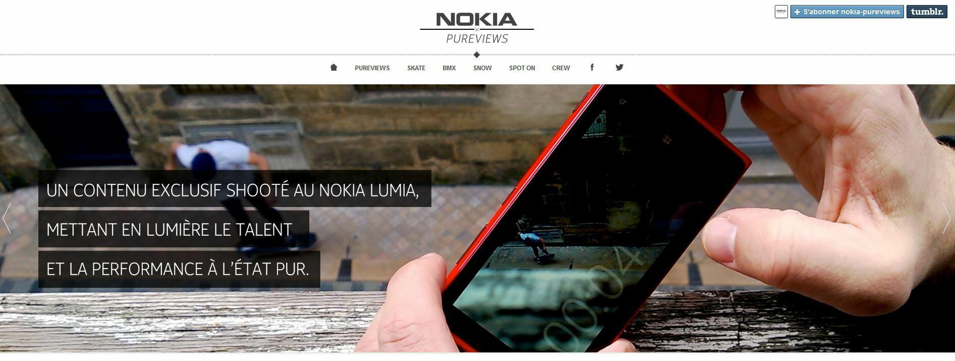 Fans de sport et d'action, découvrez le site NokiaPureviews