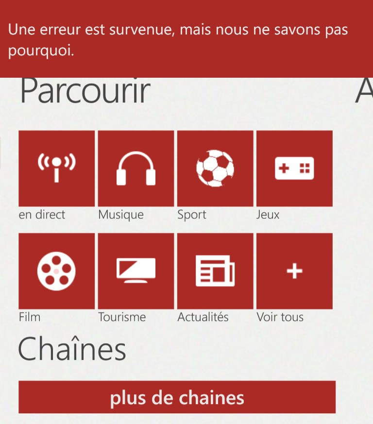 Google bloque de nouveau l'application YouTube pour Windows Phone