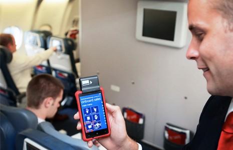 Le Nokia Lumia 820 assiste les hôtesses de l'air chez Delta Airlines