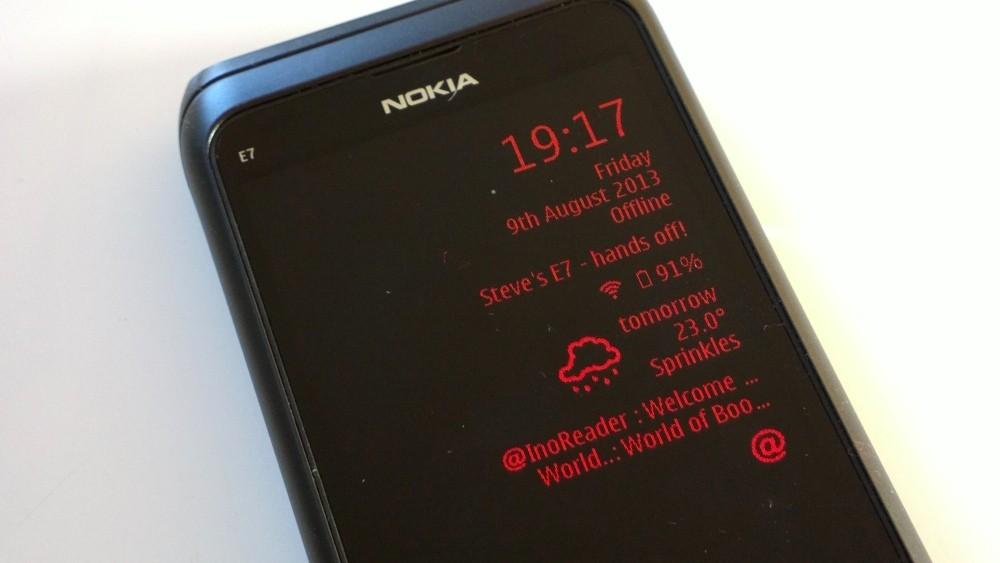 qooMail : Notifications d'emails sur votre écran de veille Symbian