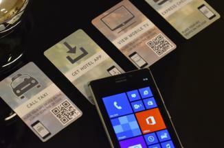 Les bénéfices de la NFC sur des Nokia Lumia démontrés lors de l'Hôtel Show du 28 au 30 Septembre à Dubaï