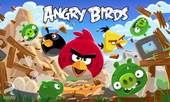 4 mises à jour pour Angry Birds sur Windows Phone 8 en une semaine!