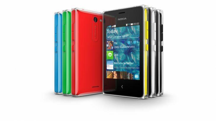 Photos et caractéristiques techniques des Nokia Asha 500, 502 et 503