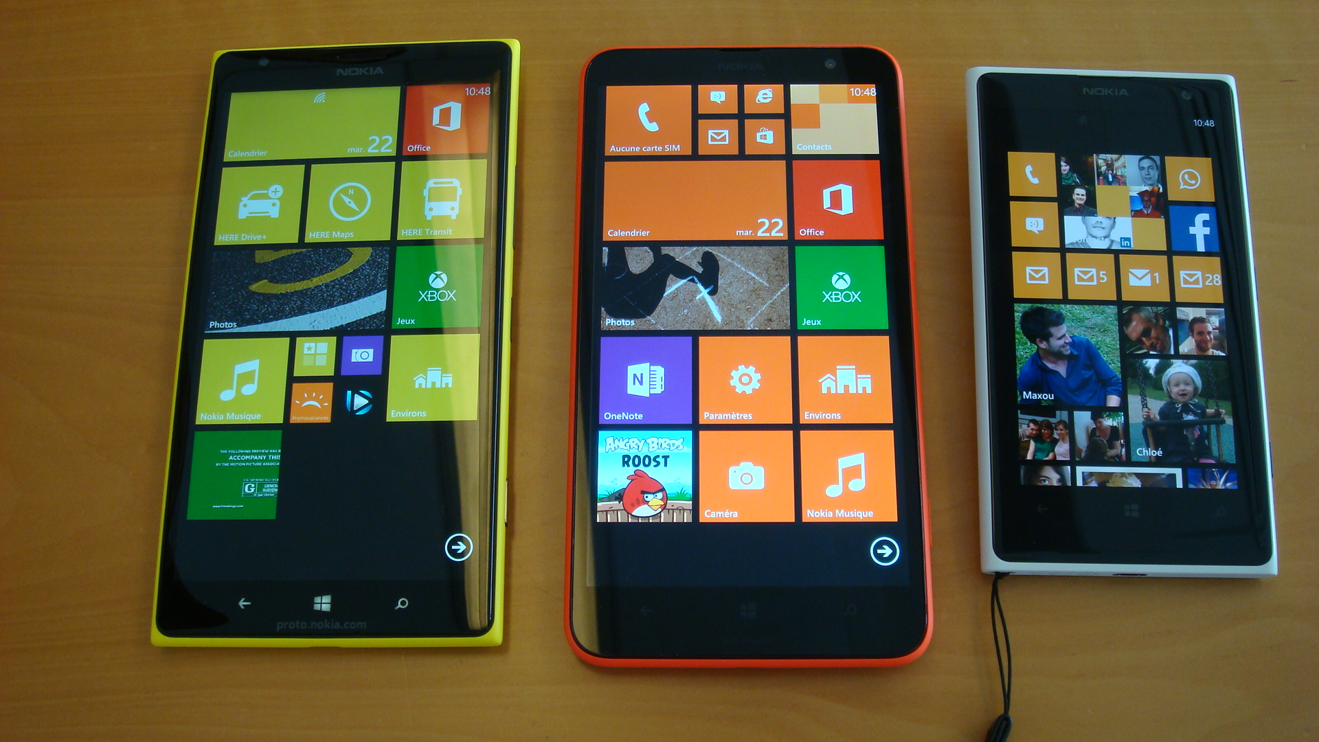 Nokia Lumia 1320 with Six-inch, 720p HD display, 4G LTE connectivity and