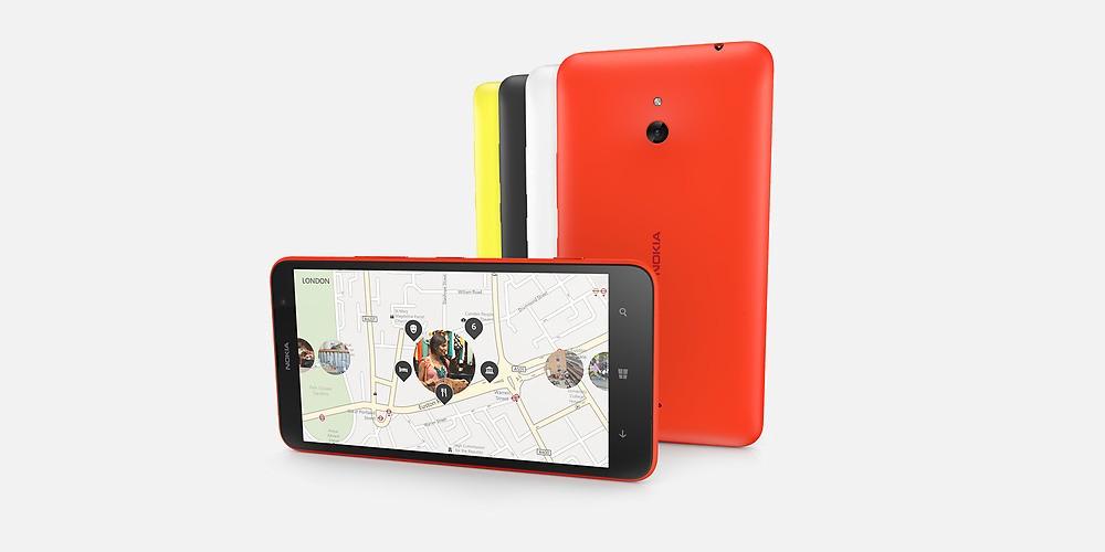 Nokia annonce la disponibilité du Lumia 1320, un géant à petit prix !