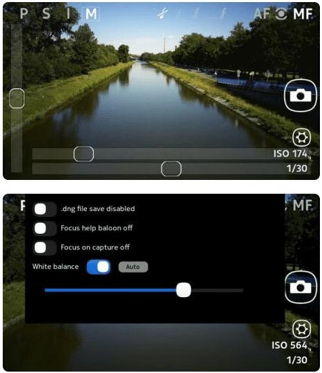 RawCam pour le Nokia N9, le «Nokia Camera» de MeeGo