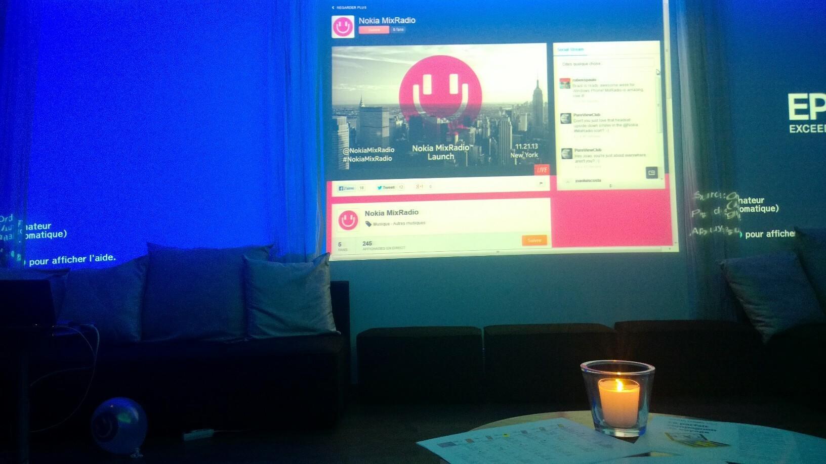 Conférence : Nokia lance MixRadio