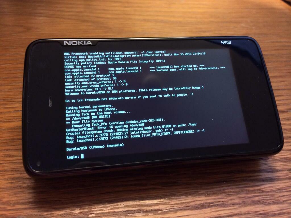 Darwin, le coeur d'iOS / Mac OS sur le Nokia N900