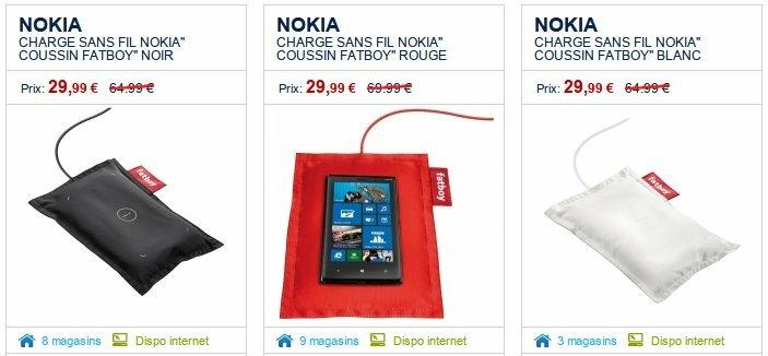 Le chargeur sans fil Fatboy (DT-901) à 29,99€ chez The Phone House