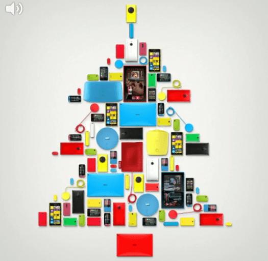 Nokia vous souhaite un Joyeux Noël avec un Vine