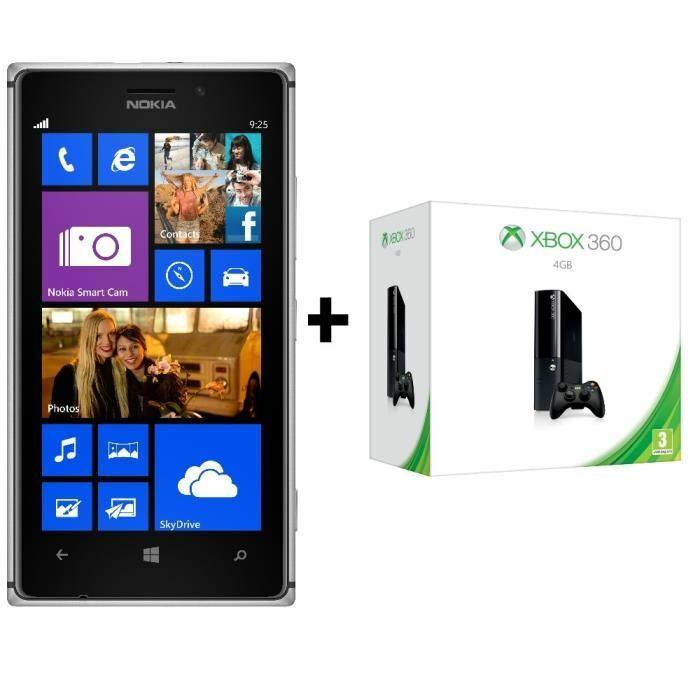 Chez CDiscount, un Nokia Lumia 925 gris acheté, la Xbox 360 4Go offerte !