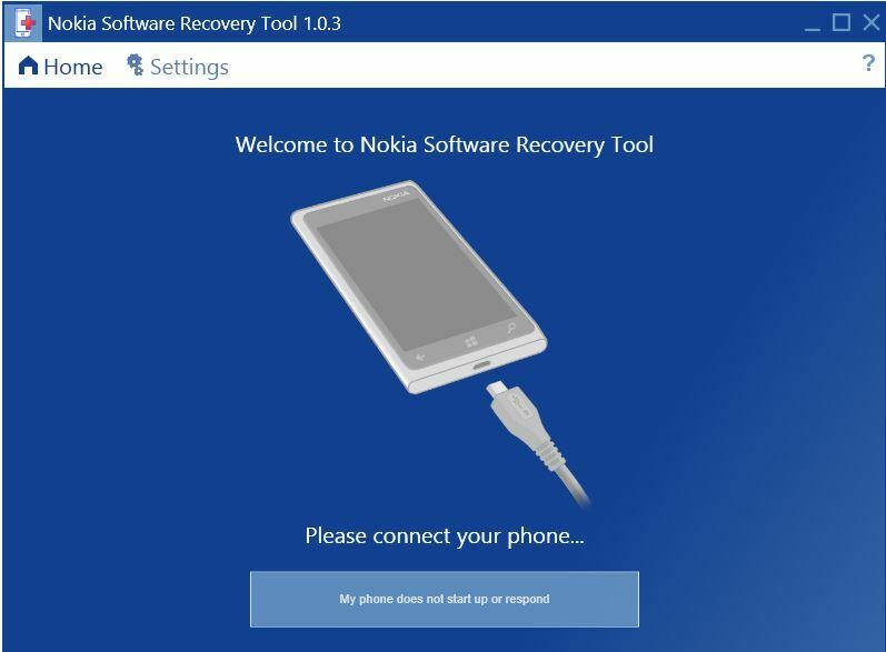 Tentez de sauver votre Lumia avec «Nokia Software Recovery Tool»