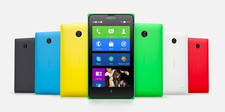 [ #MWC14 ] Les Nokia X, nouveaux smartphones Nokia sous Android !