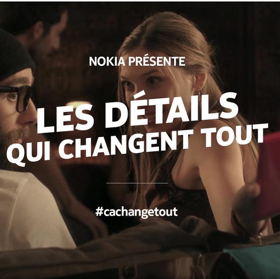 Campagne Nokia Lumia : les détails qui changent tout !