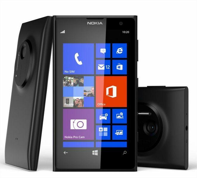 B&You propose le Nokia Lumia 1020 noir à 459€