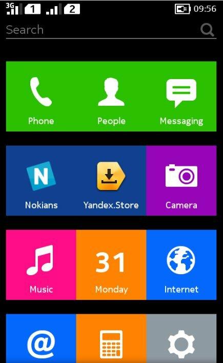 Nokia adopte le Yandex.Store sur la gamme Nokia X en Russie