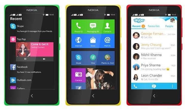 Le Nokia X poursuit son chemin chez Microsoft
