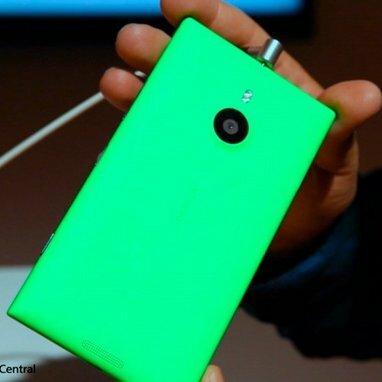 Le Nokia Lumia 1520 présenté en vert suite à la BUILD 2014
