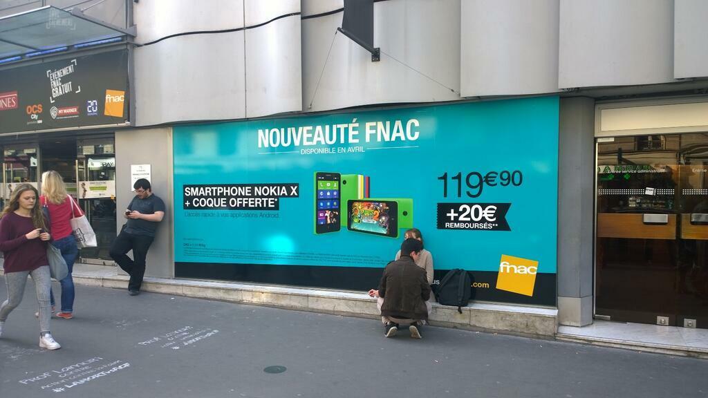 Le Nokia X enfin disponible en magasin