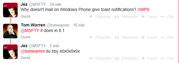 Des notifications Toasts pour les mails sur Windows Phone 8.1