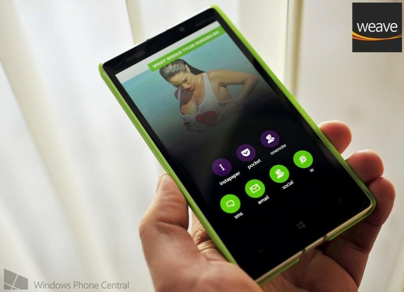Weave fait son retour sur Windows Phone